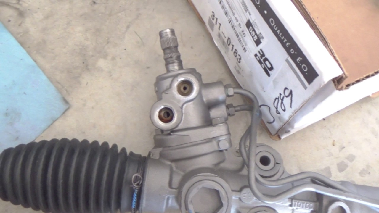 diy lexus is300 steering rack replacement [ 1280 x 720 Pixel ]
