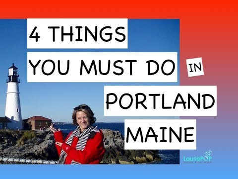 Four Things You Must Do in Portland, Maine  (Fall 2017)