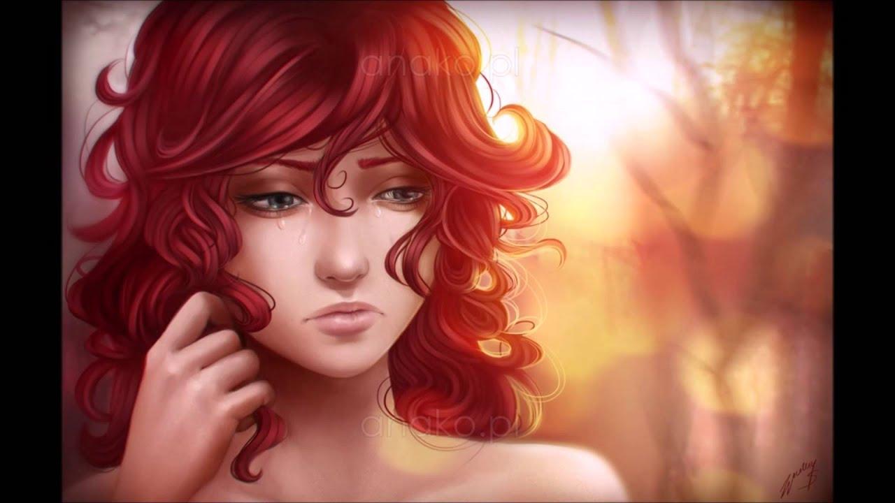 3d Art Wallpaper Blue Eyed Girl Readheaded Beauty Subliminal Youtube