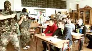 Kradnutie triednej knihy - 4.SB SPŠ Poprad 2010-2014