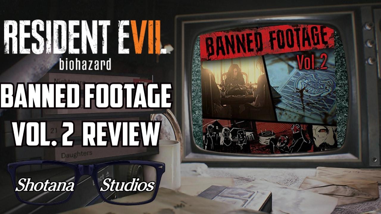 Banned Footage Vol 2 Review Should You Buy It Resident Evil 7 Dlc Psvr Shotana Studios