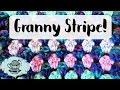 DIY GRANNY STRIPE Crochet Blanket How To Beginner ¦ The Corner of Craft
