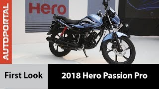 2018 Hero Passion Pro - First Look - Autoportal