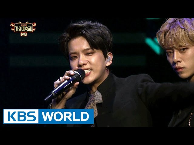 B.A.P - SKYDIVE [2016 KBS Song Festival / 2017.01.01]