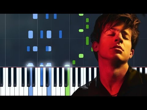 """Charlie Puth - """"Empty Cups"""" Piano Tutorial - Chords - How To Play - Cover"""