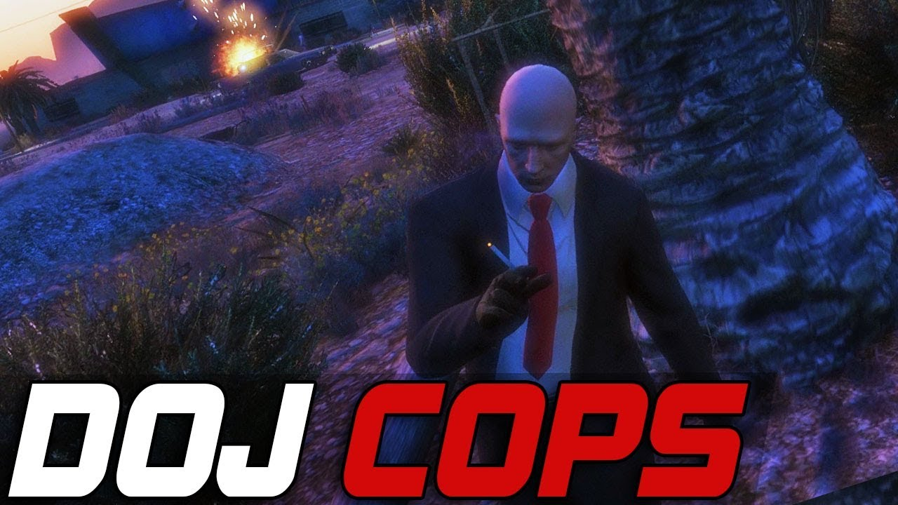 Dept. of Justice Cops #333  - The Agents (Criminal)