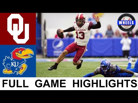 Download #3 Oklahoma vs Kansas Highlights | College Football Week 8 | 2021 College Football Highlights