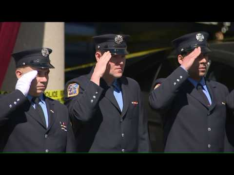 Firefighters honor memory of Michael Davidson at wake