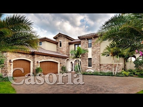 Casoria, a Tuscan Inspired Courtyard Home