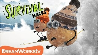 How to Survive an Avalanche | SURVIVAL HACKS