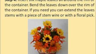 Thanksgiving crafts: Thanksgiving Candy Bouquet Thumbnail