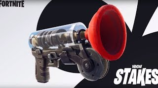 *NEW* GRAPPLER WEAPON GAMEPLAY ! GETAWAY MODE (HIGH STAKES CHALLENGE) Fortnite Battle Royale