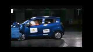 Crash test Chevrolet Spark 2009