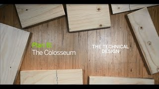 Metsa Wood Plan B: Wooden Structure Design For The Colosseum