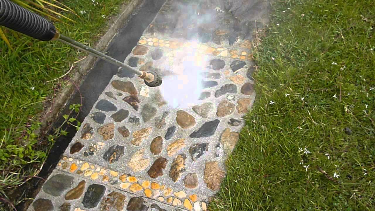 Antioque a hidrolavado fachadas concreto patios piscinas for Patios con piedras