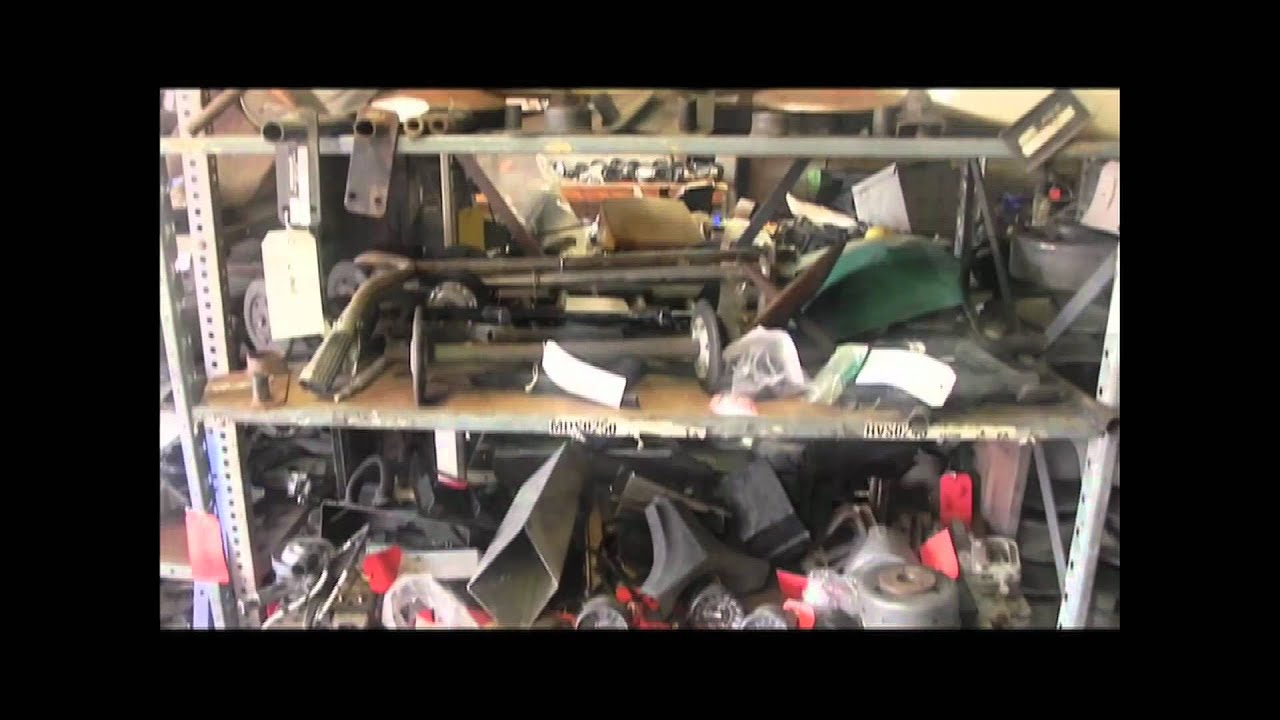 The World's Largest Sled Salvage Shop - Hudon Sled Salvage