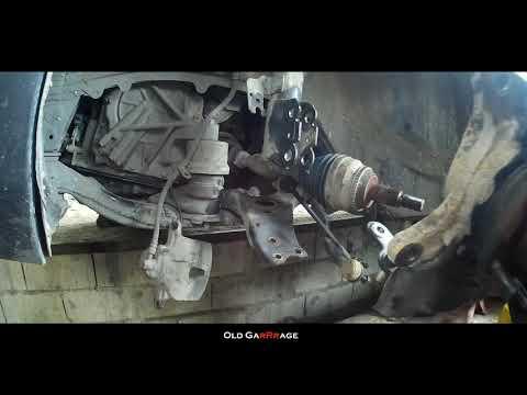 Замена переднего ступичного подшипника Toyota Solara / Camry