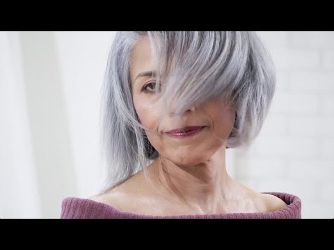 How to Enhance Silver Hair Color
