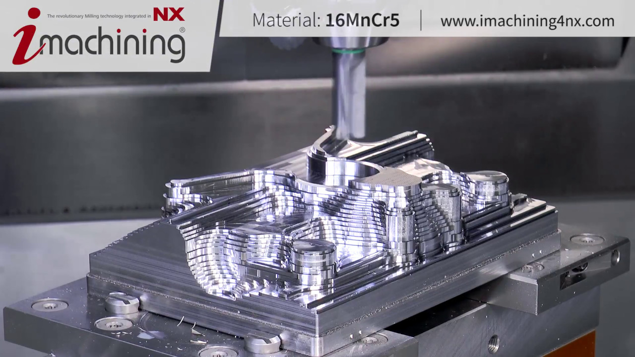 3D Mold Part | iMachining for Siemens NX