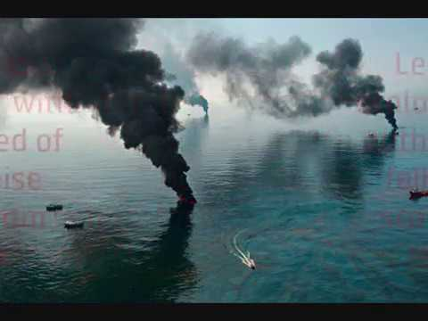 Greece Athina ~ oil spill in sea ~