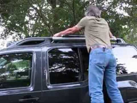 Diy 117 Nissan Xterra Roof Rack Lumber Carrier Youtube