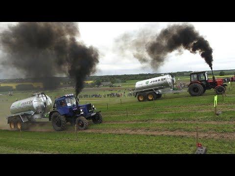 MTZ 80.1 vs MTZ 82, Tractor show, Tractor Drag Race,