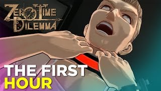 Zero Time Dilemma PC GAMEPLAY - The First Hour