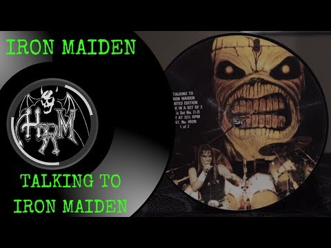 Iron Maiden Interview with Adrian Smith And Clive Burr 1981