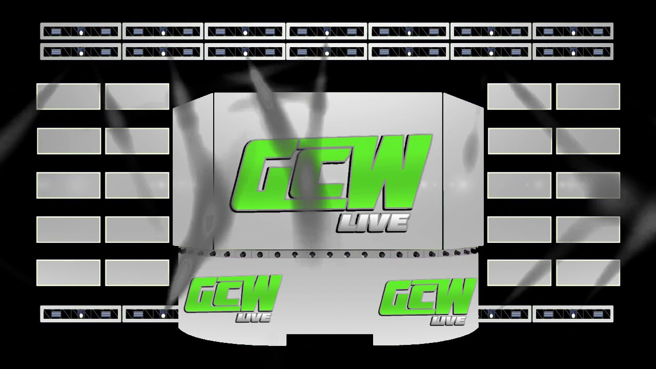 GCW LIVE 2019 STAGE CONCEPT