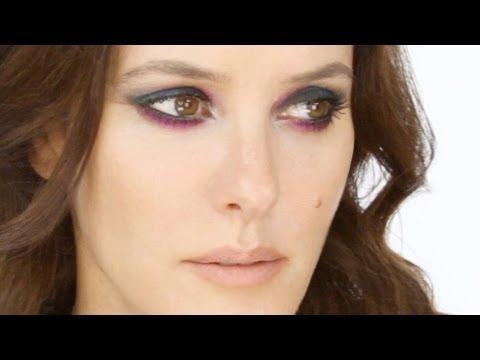 Easy Smoky Eye With Colour Makeup Tutorial