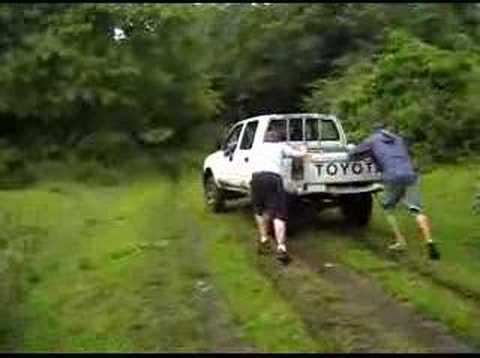 Vanuatu Mission - bogged