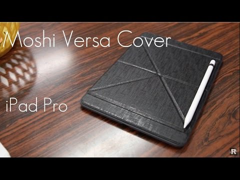 huge discount 6e336 8ae8a Moshi VersaCover - iPad Pro! - Review / Demo