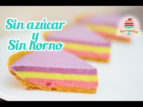 cheesecake-sin-azÚcar-y-sin-horno-|-pay-de-frutas-saludable-|-mis-pastelitos
