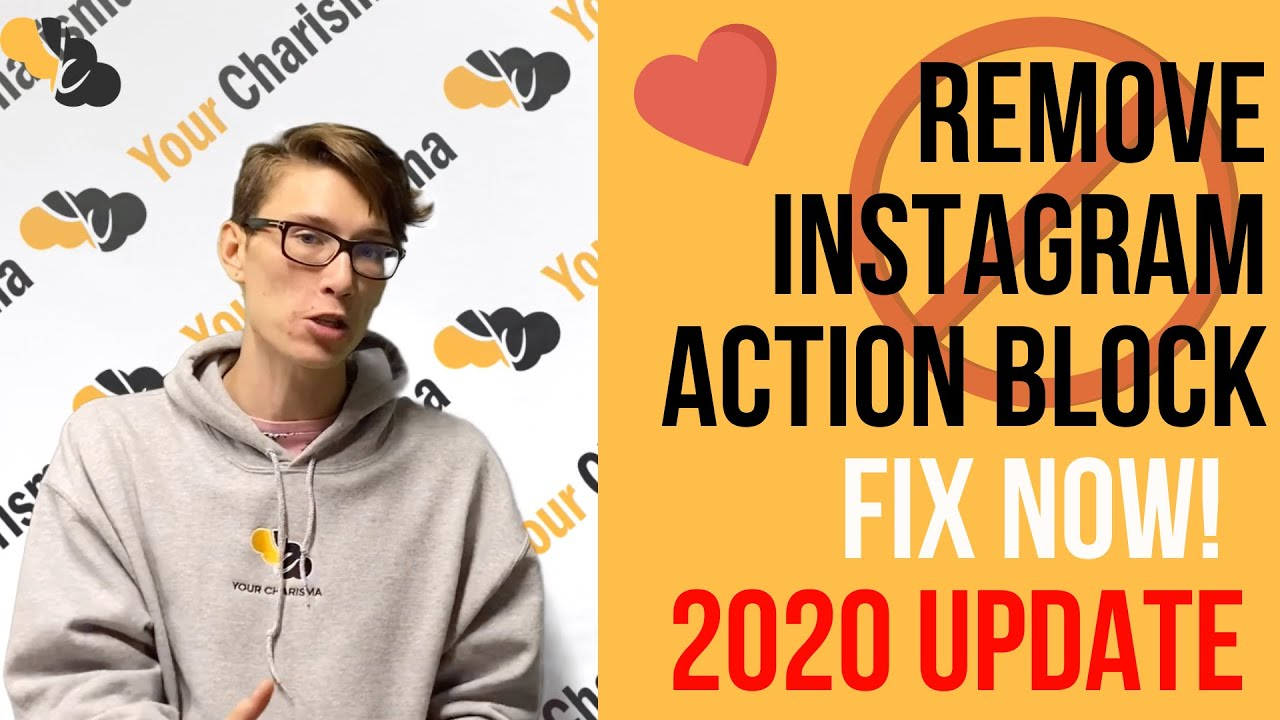 How to Remove Instagram Action Block | 2019 Edition - Your Charisma