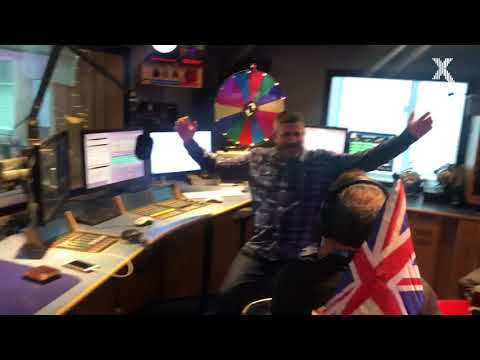 Chris Moyles wreaks havoc with the other Global Radio brands on his mobility scooter!