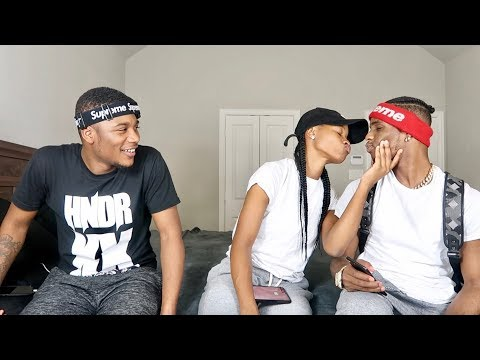 EXTREME TRUTH OR DARE W/ AR'MON AND TREY!! *WE KISSED*