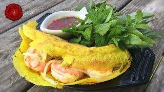 Jn Bánh xèo – Vietnamese Sizzling Shrimp & Pork Crepes Updated