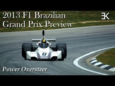 Power Oversteer: 2013 F1 Brazilian Grand Prix Preview