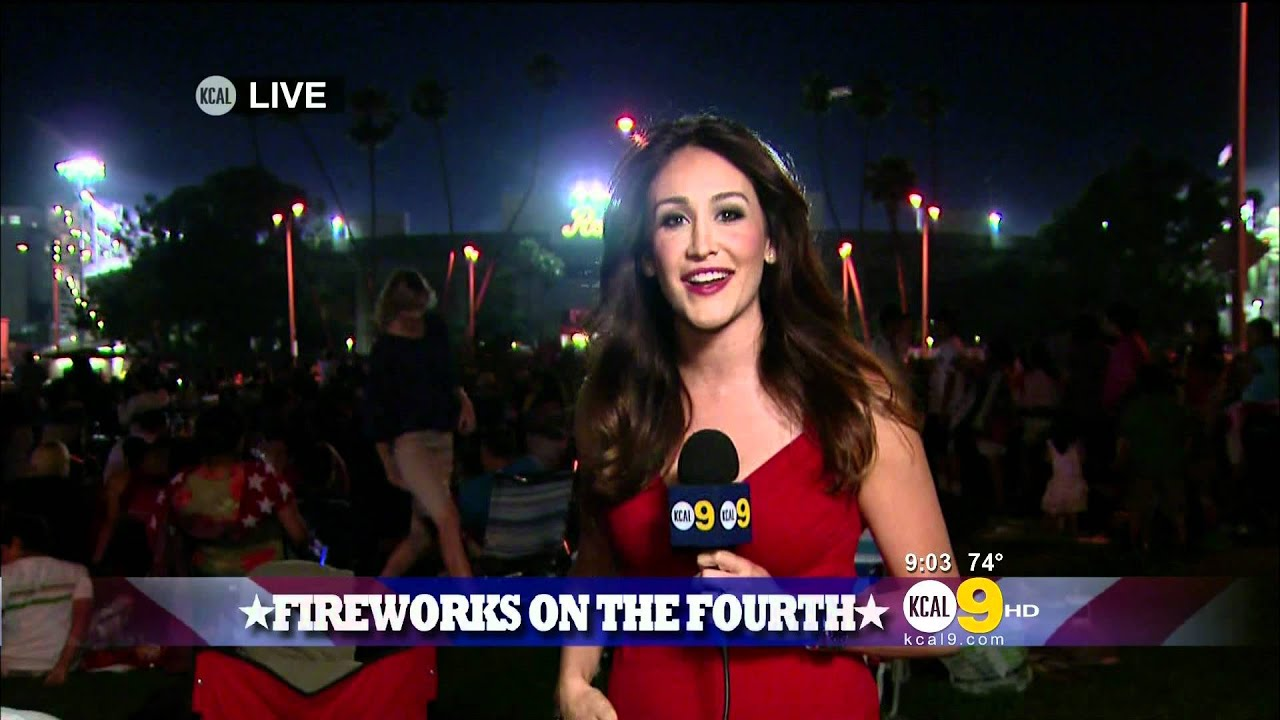 Suzanne Marques 2011/07/04 9-10PM KCAL9 HD; Red top ...