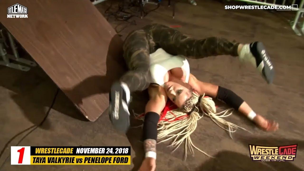Best of Wrestlecade Night 3 - Penelope Ford, Taya Valkyrie, John Morrison, Drew Galloway