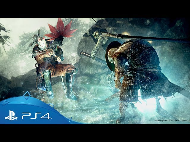 Nioh | Defiant Honour DLC Launch Trailer | PS4
