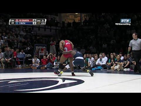 Big Ten Rewind: 2013 Wrestling - 184 LBs -  Ohio State