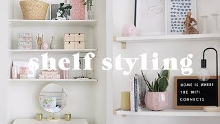 How To Style A Shelf | 10 Easy Tips For Bookshelf Styling 📚(ad)