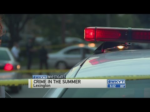WKYT Investigates:  Lexington police bracing for crime waves tied to heat waves