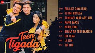 Download Teen Tigada - Full Album | Bhavin Bhanushali, Sameeksha Sud & Vishal Pandey