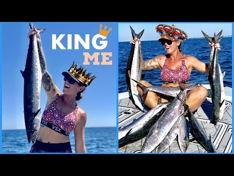 KING ME || TROLLING In DESTIN, FLORIDA For KING MACKEREL And SPANISH MACKEREL