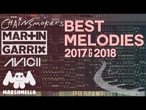 BEST MELODIES of 2017 & 2018 in Fl Studio! [FREE FLP & MIDI] The Chainsmokers, Martin Garrix, Avicii