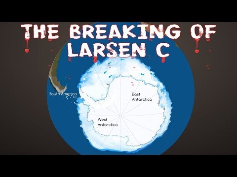 Will glacier Larsen C's breaking off from Antarctica lead to a rise in global sea levels?