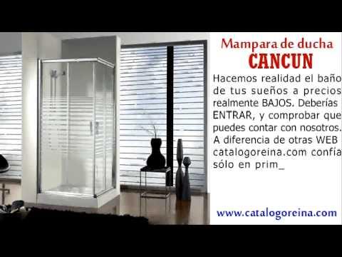 Mampara de ducha cromada mamparas de ba o y ducha for Duchas modernas precios