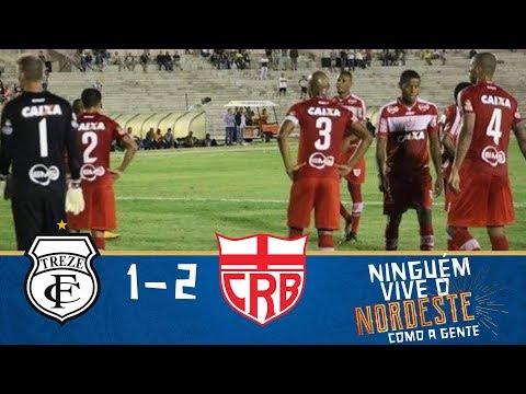 Melhores momentos - Treze 1 x 2 CRB - Copa do Nordeste (16/01/2018)